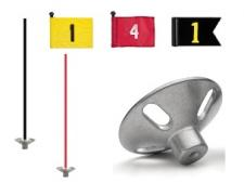 Single units complete with flag or pennant (incl. rod & base). Specify number.
