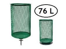 Litter caddie stainless steel 76 L