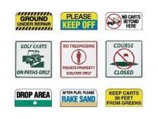 Information signs (aluminium)