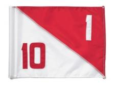 Dual numbered semaphore flags