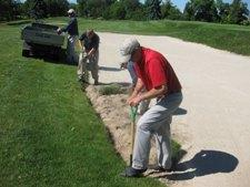 Bunker edging
