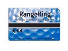 Magnetic card standard print<br>BLUE