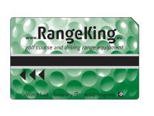 Magnetic card standard print<br>GREEN