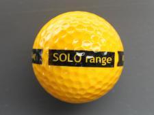 1-piece SOLO range ball Yellow<br>Standard print (300 pcs/carton)
