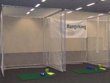 Practice cage INDOOR complete<br>normal size: 300 x 300 x 380 cm
