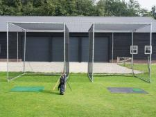 Practice cage OUTDOOR complete<br>normal size: 300 x 300 x 380 cm