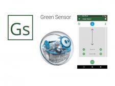 GreenSensor greens speed meter<br>app complete with robot