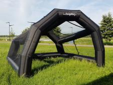 Inflatable practice cage<br>Rental period 1 day
