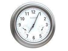 Clock ø 45 cm - Silver <br>