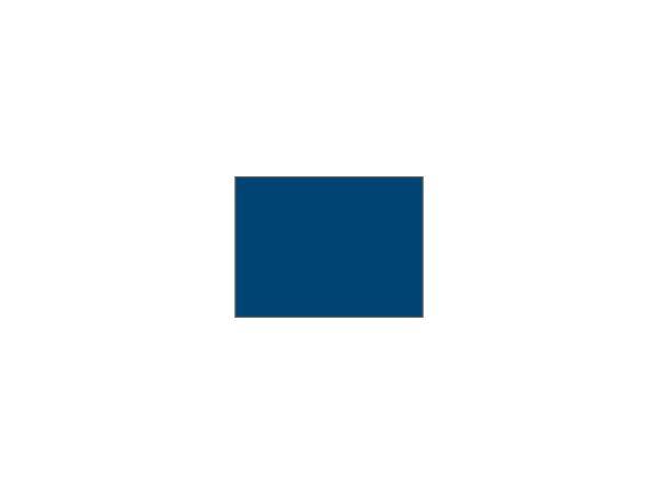 Single flag Plain nylon<br>DARK BLUE tube-lock (1 pc)