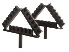Flagstick caddie (18 flagsticks)<br>Set of 2 pieces