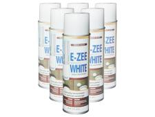 E-zee white paint - case of 6 cans<br>
