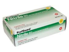 Disposable Nitrile gloves - XL<br>(box of 100 sets)