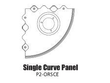 Tour Links panel radius<br>outside single curve edge